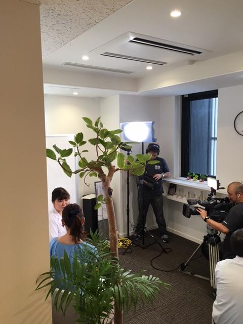 九州朝日放送「とっても健康らんど」に出演