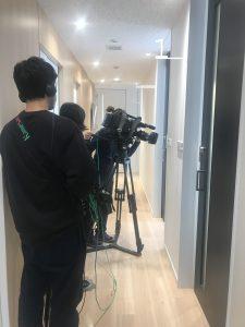 TV インタビュー収録を行いました