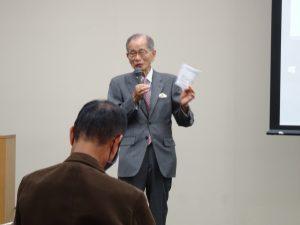 元気100倶楽部 11月例会 にて講演を行いました