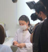 院長の伊藤医師がTV取材を受けました